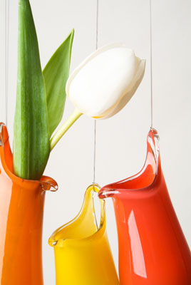 Ideas are drawn from the natural world, in particular tropical plants with their luscious colours and shapes....
